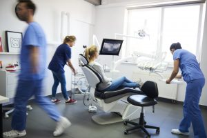 Preparo para cirurgia odontológica